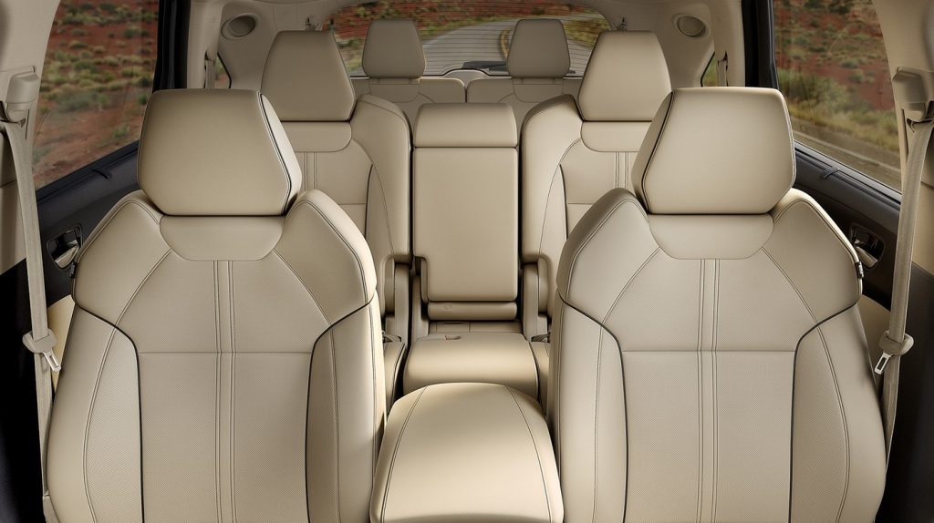 The Acura Mdx Offers Comfortable Third Row Seating