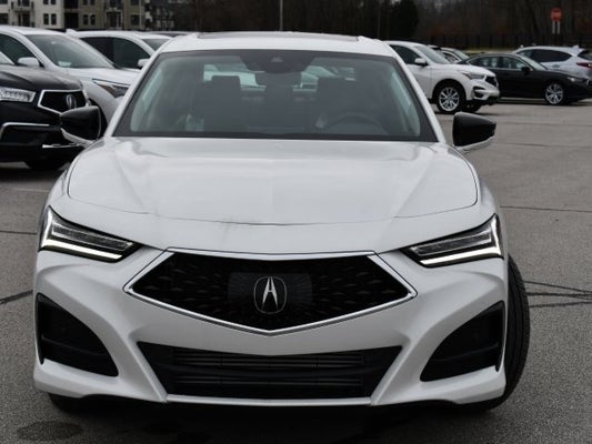 2021 acura tlx sh-awd with technology package in